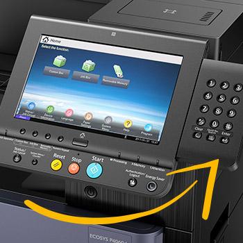 Kyocera-yazıcı-panel-görüntüsü