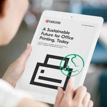 Bugün ofis baskısı için sürdürülebilir bir gelecek
